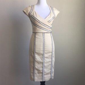 NWT Nicole Miller Studio One Cream Dress